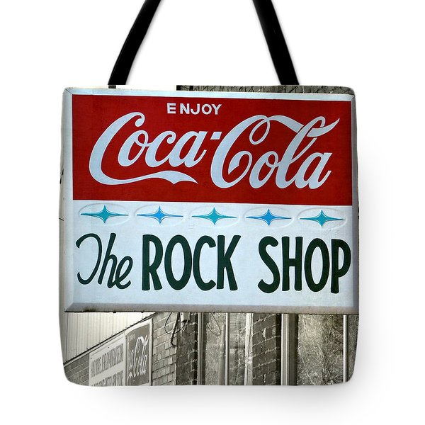 The Rock Shop Tote Bag