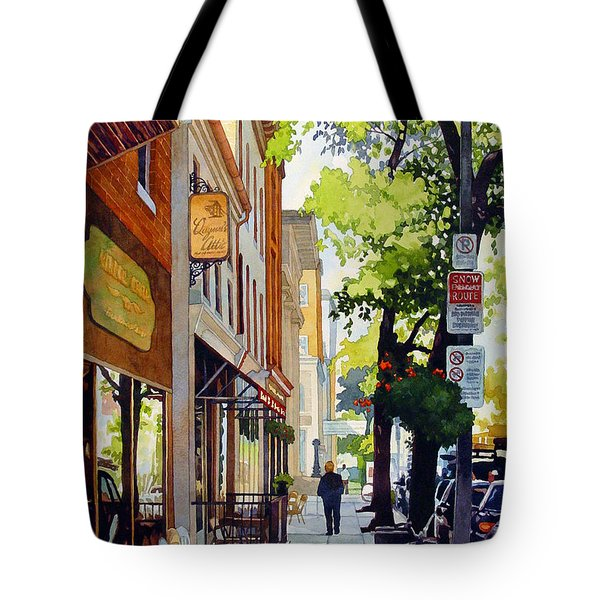 The Rocking Chairs Tote Bag