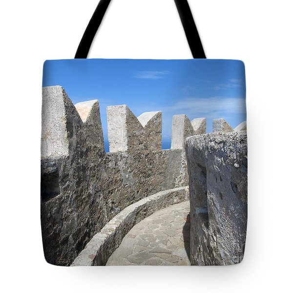 Tote Bag featuring the photograph The Rocks And The Path by Ramona Matei