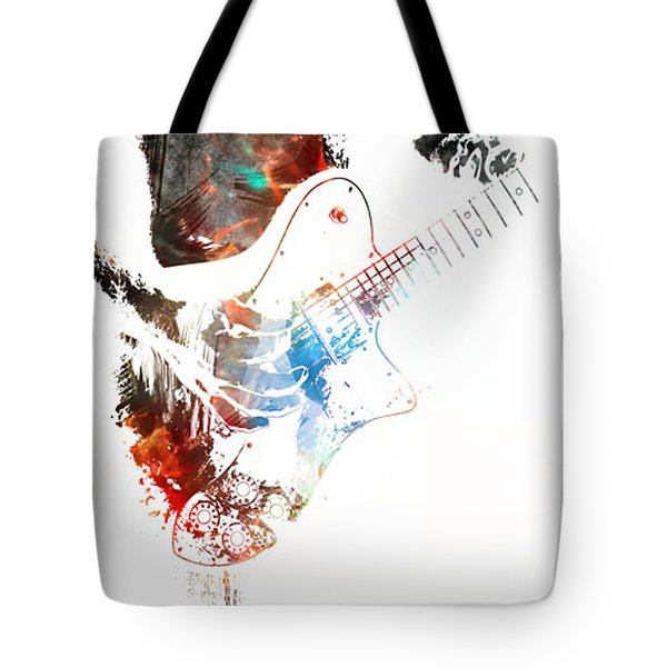 The Roll Of Rock  Tote Bag