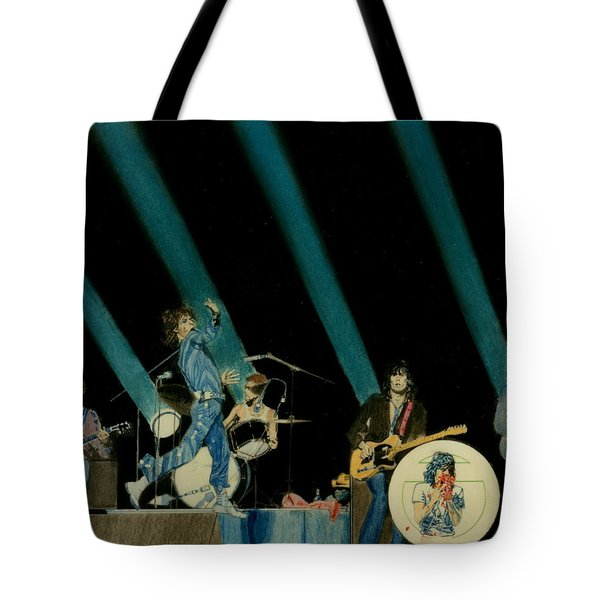 The Rolling Stones - Rip This Joint Tote Bag by Sean Connolly
