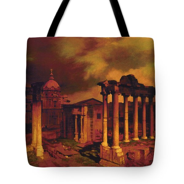 The Roman Forum Tote Bag by Blue Sky