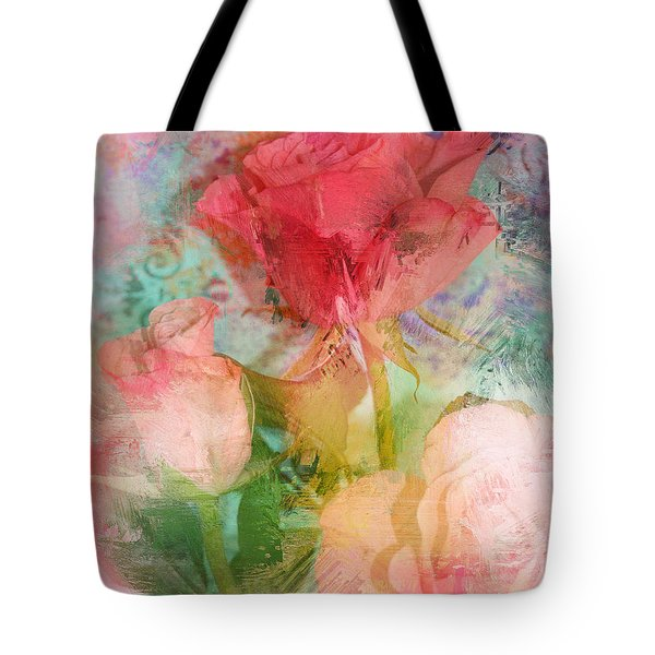 The Romance Of Roses Tote Bag