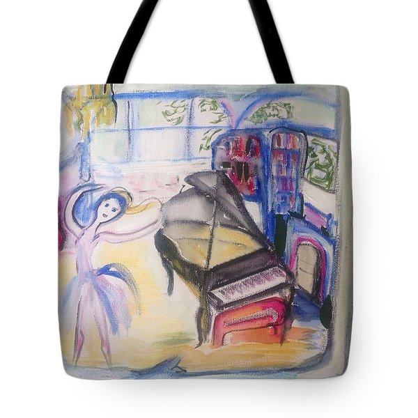 The Room Of My Mother Tote Bag by Judith Desrosiers