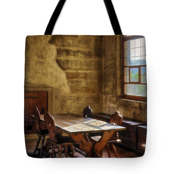 The Room On The Side Tote Bag by Joan Carroll
