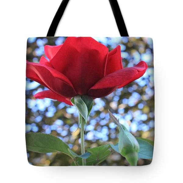 The Rose And Bud Tote Bag