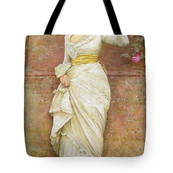 The Rose Tote Bag by Edward Killingworth Johnson