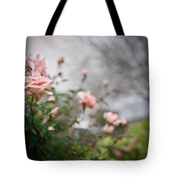 The Rose Garden Tote Bag by Linda Unger