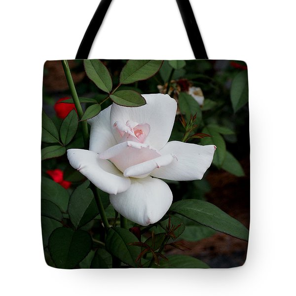 Tote Bag featuring the photograph The Rose by James C Thomas