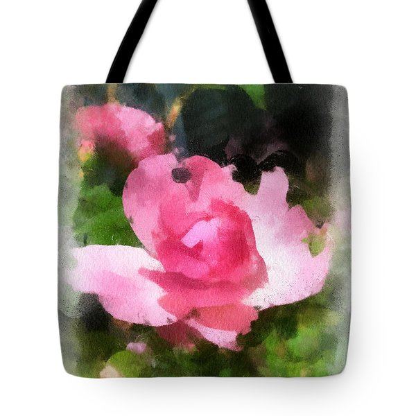 Tote Bag featuring the photograph The Rose by Kerri Farley