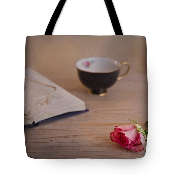 The Rose Tote Bag by Trevor Chriss