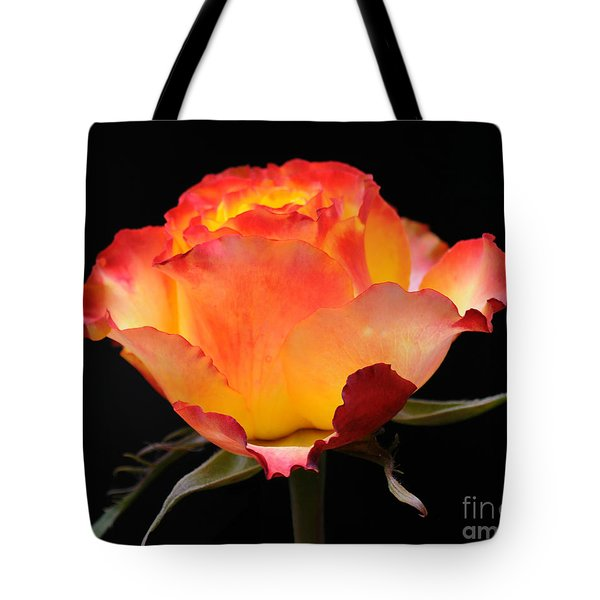 Tote Bag featuring the photograph The Rose by Vivian Christopher