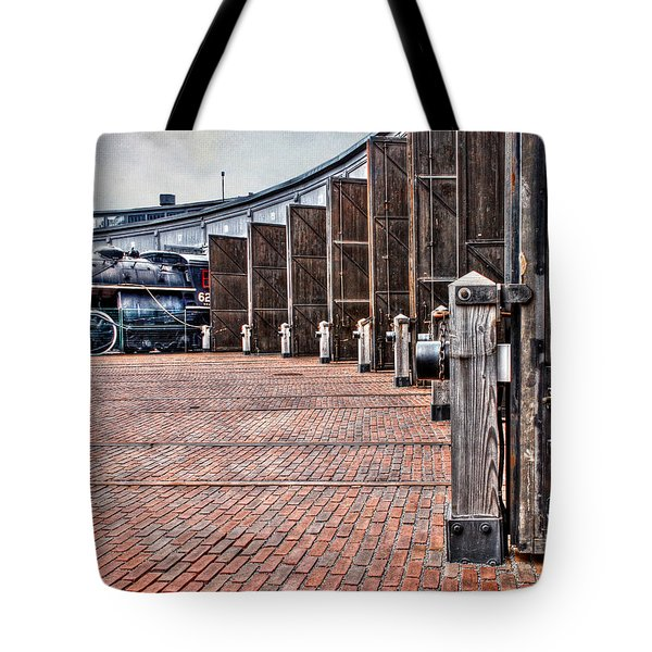 The Roundhouse Tote Bag by Keith Armstrong
