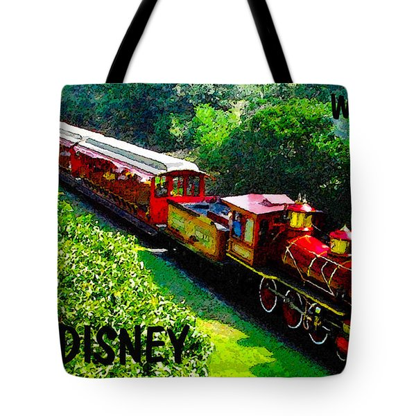 The Roy O. Disney Tote Bag by David Lee Thompson
