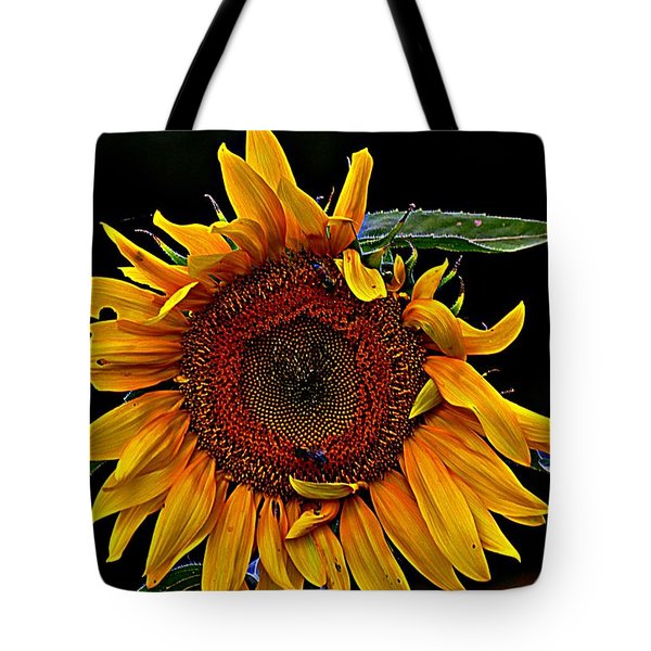 The Royal Sunflower Tote Bag