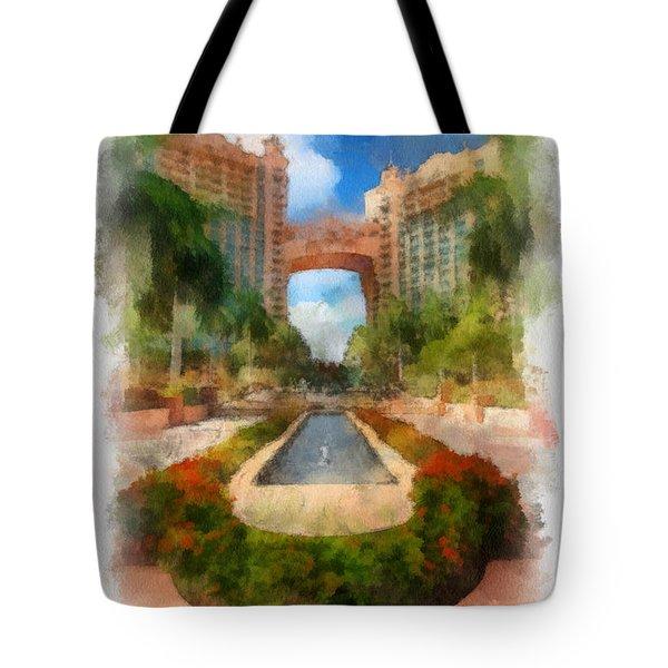 The Royal Towers Atlantis Resort Tote Bag