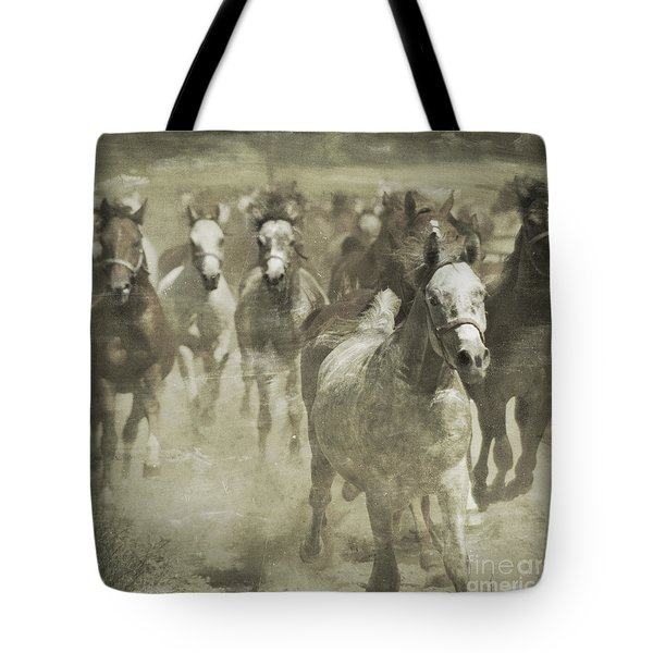 The Run For Freedom Tote Bag by Angel  Tarantella