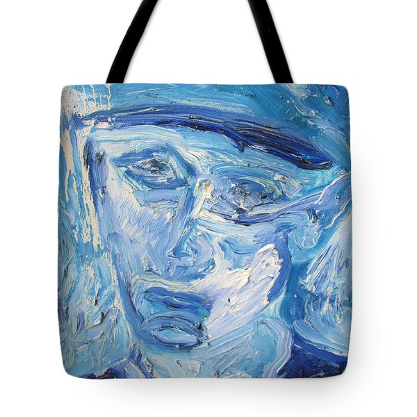 The Sad Man Tote Bag
