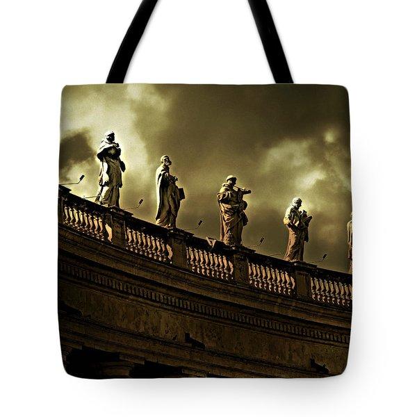 The Saints  Tote Bag by Micki Findlay
