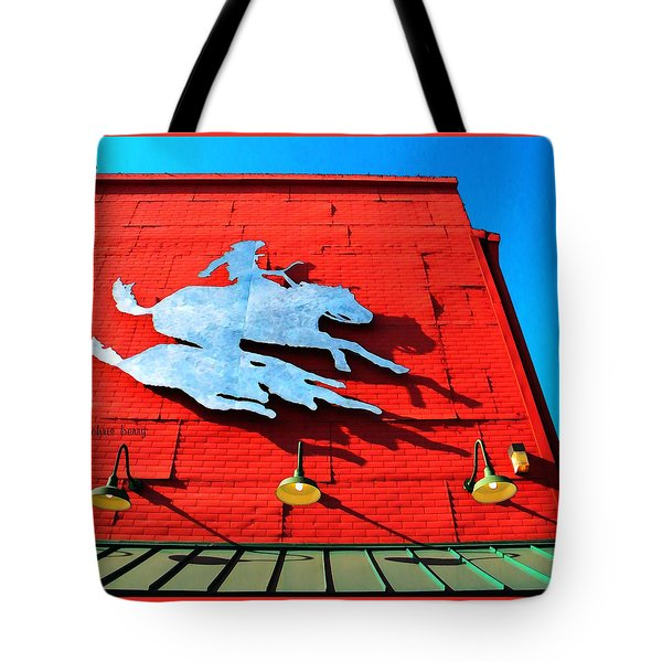 The Saloon Tote Bag by Chris Berry