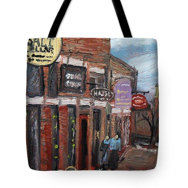 The Salt Cellar Tote Bag