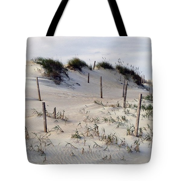 Tote Bag featuring the photograph The Sands Of Obx by Greg Reed