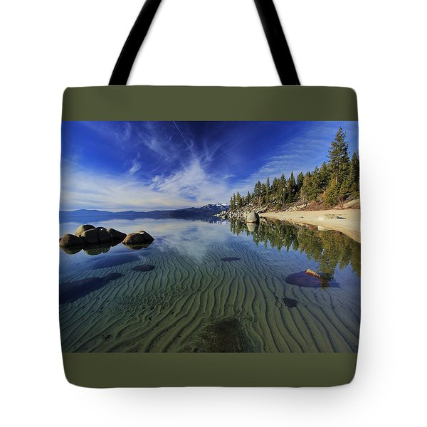Tote Bag featuring the photograph The Sands Of Time by Sean Sarsfield
