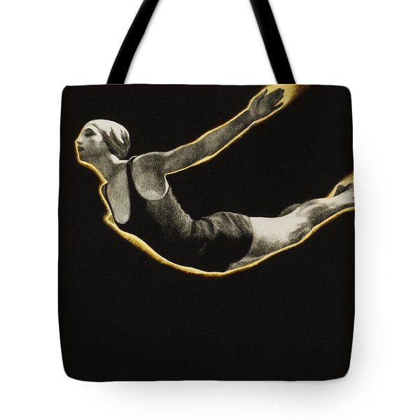 The Sawn Dive Circa 1939 Tote Bag by Aged Pixel