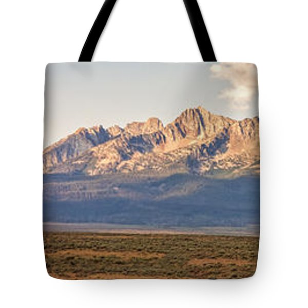 The Sawtooths' Tote Bag by Robert Bales