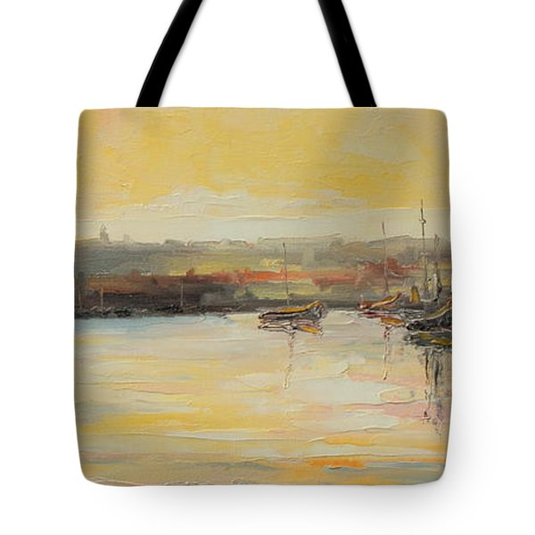 The Scarborough Harbour Tote Bag