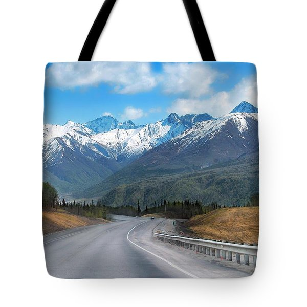 The Scenic Glenn Highway  Tote Bag by Dyle   Warren