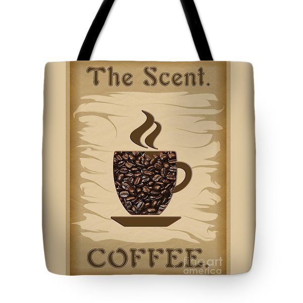 The Scent - Coffee Tote Bag
