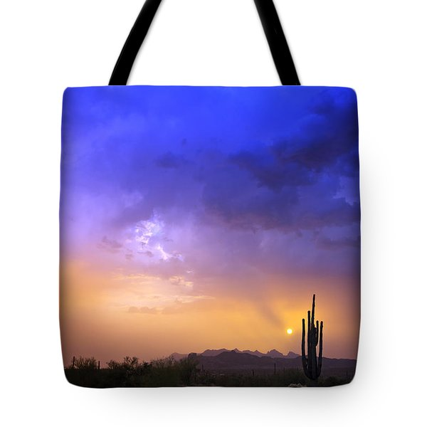The Scent Of Rain Tote Bag