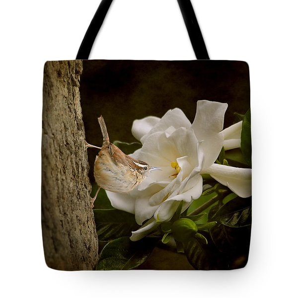 The Scent Of The Gardenia Tote Bag