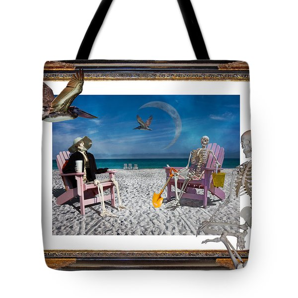 The Scientist's Vacation Tote Bag