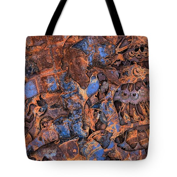 The Scrap Pile Tote Bag