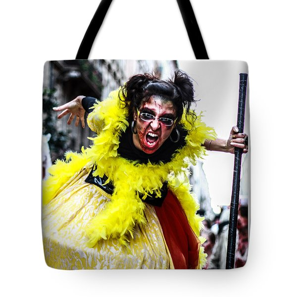 The Scream Crusher Tote Bag