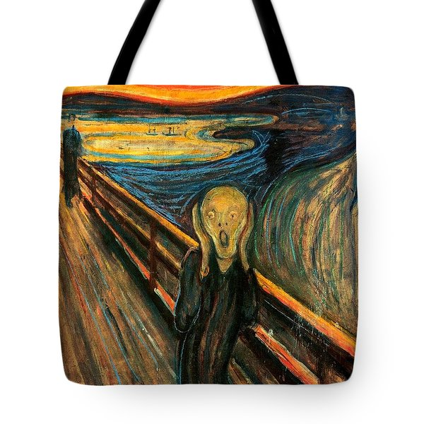 The Scream Edvard Munch 1893                    Tote Bag