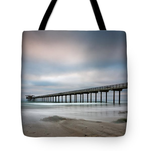 The Scripps Pier Tote Bag