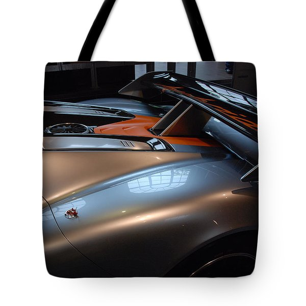 The Sculptured Rear 918 R S R Tote Bag