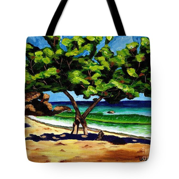 The Sea-grape Tree Tote Bag