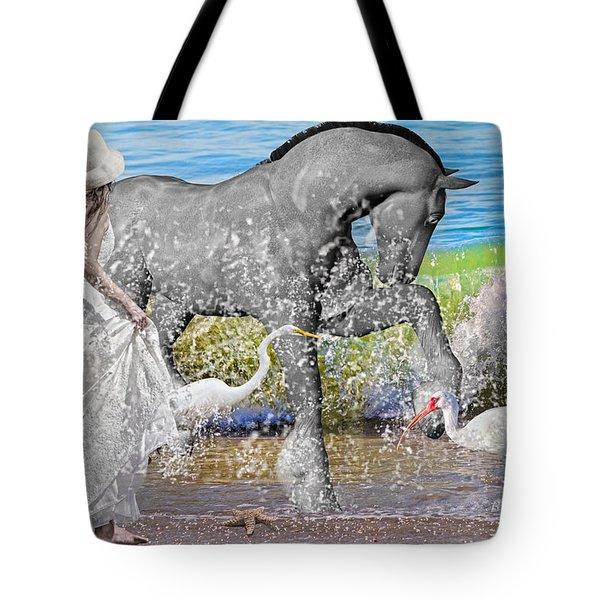 The Sea Horse Tote Bag