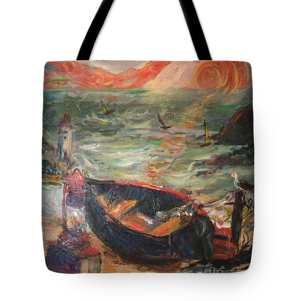 The Sea Of Cortez Tote Bag by Avonelle Kelsey