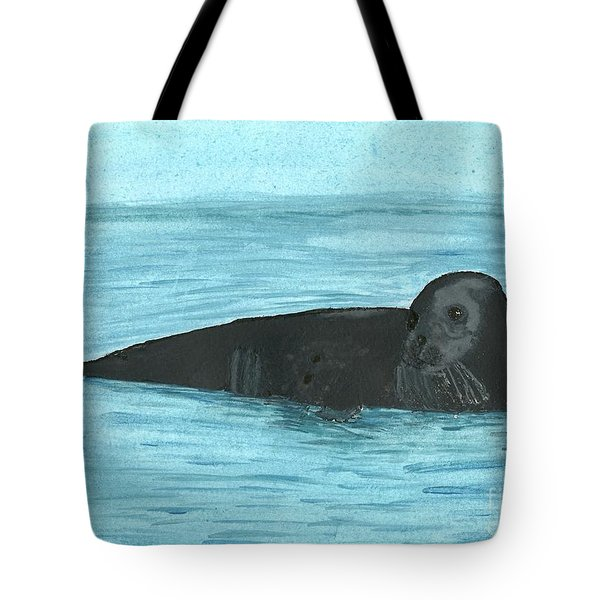 The Seal Tote Bag by Tracey Williams