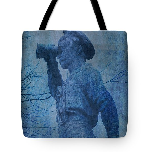 The Seaman In Blue Tote Bag
