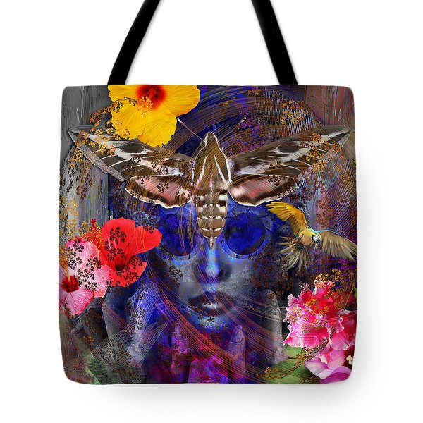 The Search For Hibiscus Life Tote Bag