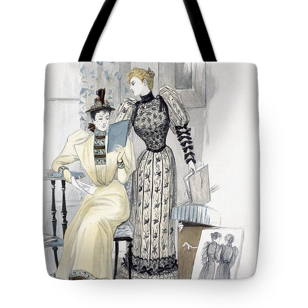 The Season, Fashion Plate For The Tote Bag