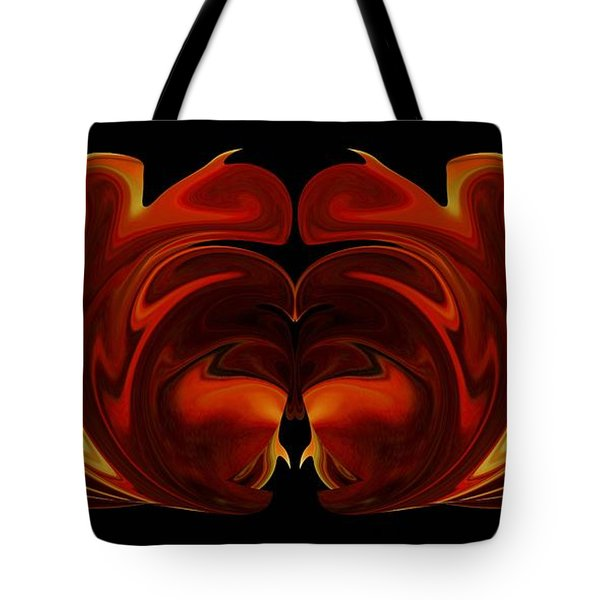 Tote Bag featuring the digital art The Second Work by Roy Erickson