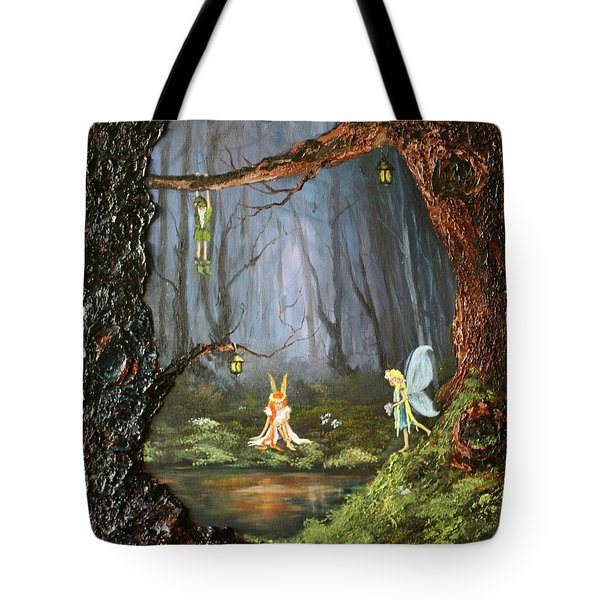 The Secret Forest Tote Bag by Jean Walker