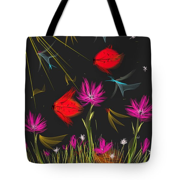 The Secrets Of The Night Tote Bag by Angela A Stanton